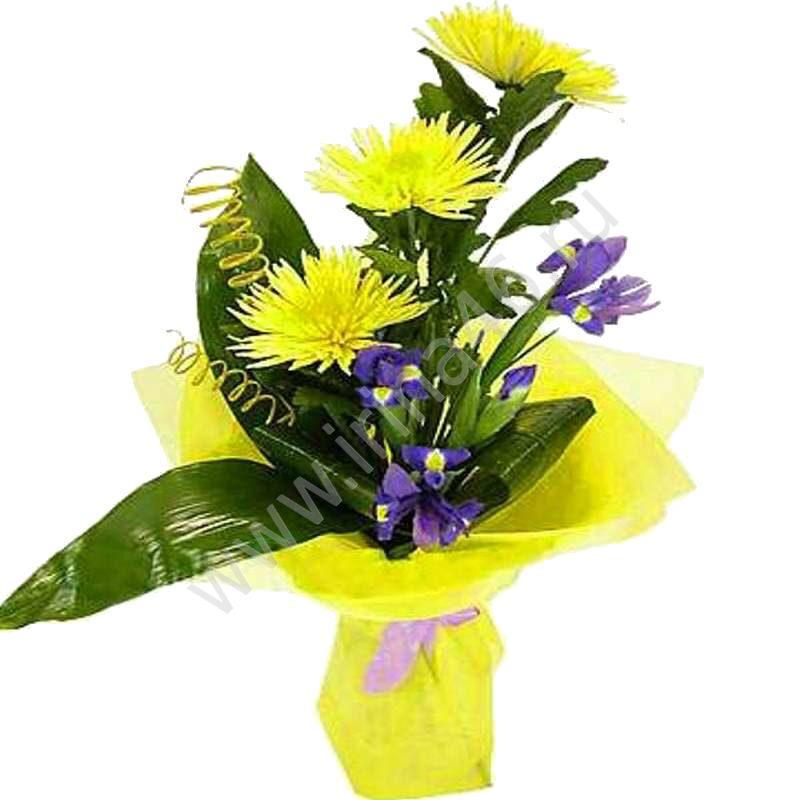 Недорогой букет из цветов своими руками
